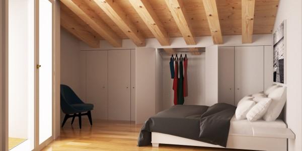 camera attico